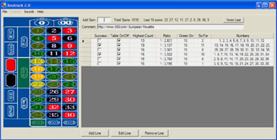 Roulette System screenshot